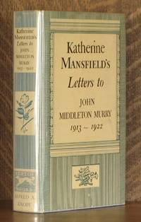 image of KATHERINE MANSFIELD'S LETTERS TO JOHN MIDDLETON MURRY, 1913-1922