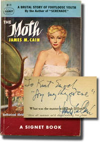image of The Moth (First Edition in paperback, inscribed to Signet Books founder Kurt Enoch)