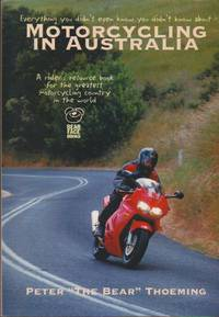 image of Motorcycling in Australia: A Resource Book for Riders
