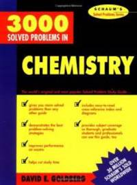 3,000 Solved Problems in Chemistry (Schaum's Solved Problems) (Schaum's Solved Problems...