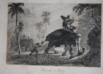 Pesth: Conrad Adolf Hartleben, 1834. 1st Edition. Hardcover. Good. 4to - over 9¾ - 12