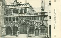 Belgium – Bruges – Chapelle da Saint-Sang, Holy Bload chapel CPA early 1900s unused...
