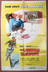 The Barefoot Executive-  Original Folded One Sheet Movie Poster (1971)