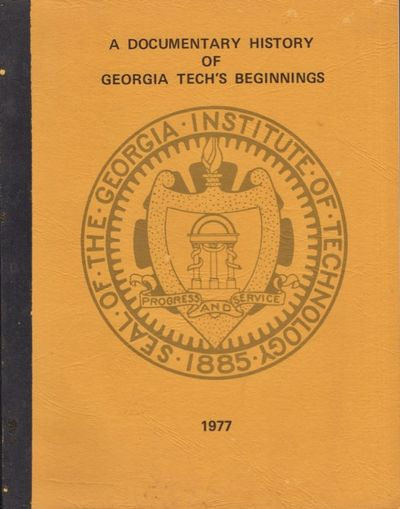 Atlanta: Georgia Institute of Technology, 1977. First Edition. Soft cover. Very good. Tall stapled s...