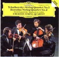 image of String Quartets - Tchaikovsky No. 1; Borodin No. 2 [COMPACT DISC]