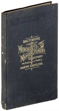 Baltimore Merchants' and Manufacturers' Directory. Number Two