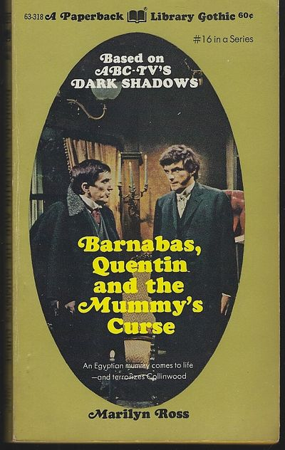 BARNABAS, QUENTIN AND THE MUMMY'S CURSE, Ross, Marilyn