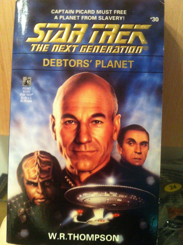 DEBTORS PLANET STAR TREK NEXT GENERATION 30