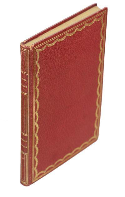 Paris: Librairie L. Conquet, 1891. First edition. Hardcover. Near Fine. Small 12mo. , 51, pp. Bound ...