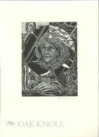 Peterborough, NH: Robert Hauser, n.d.. broadside, 10 3/4 by 14 3/4 inches. Self portrait print by Ju...
