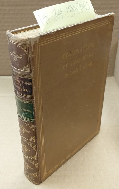 Boston: Dana Estes & Company, 1909. Hardcover. 10mo; pp 181; G leather hardcover; tan spine with gil...