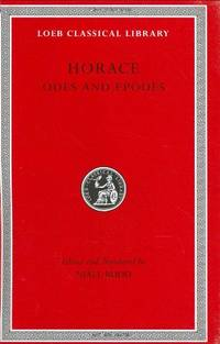 image of Odes and Epodes: 033 (Loeb Classical Library *CONTINS TO info@harvardup.co.uk)