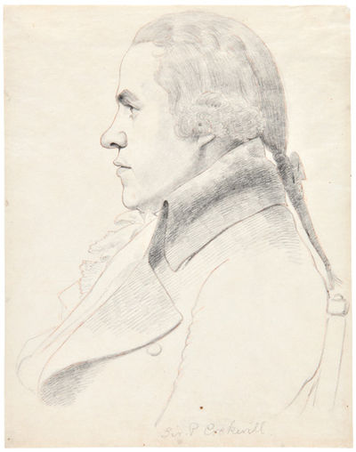 [TWO PENCIL SKETCHES BY WILLIAM...