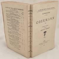 OBERMANN EDITION CRITIQUE
