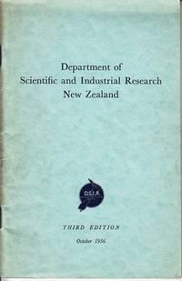 image of Department of Scientific and Industrial Research New Zealand - Departmental Handbook