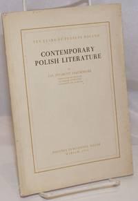image of Contemporary Polish Literature