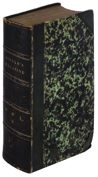 New York: G.P. Putnam & Co, 1853. Hardcover. Very Good. Hardcover.