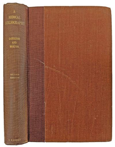 New York:: Argosy, 1954., 1954. Second edition. 8vo. xiii, , 655, pp. Indexes; occasional marginalia...