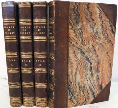 Paris: Charles Gosselin, 1835. First edition. Hardcover. Three quarter brown morocco, marbled boards...