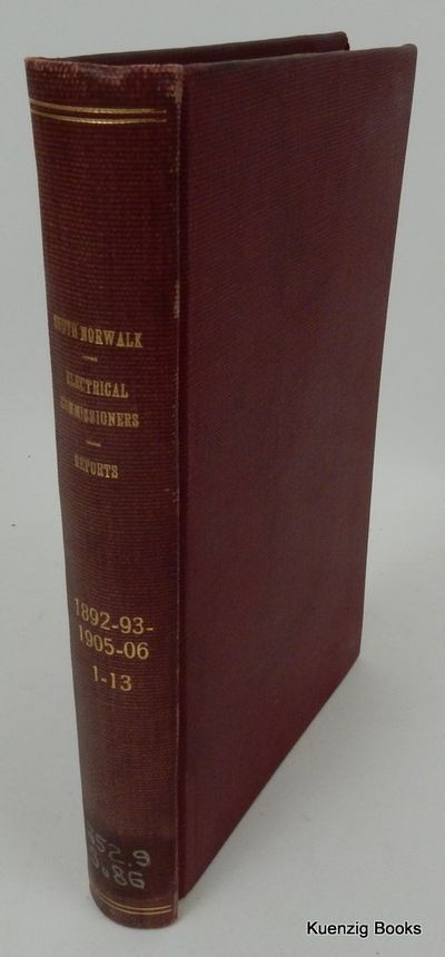 South Norwalk, Connecticut: Various, 1906. First Edition. Cloth. Very Good. First Edition. Sammelban...