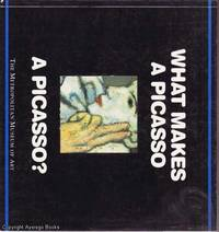 What Makes A Picasso a Picasso? by Richard Muhlberger - Paperback - 1994 - from Ayerego Books (IOBA) (SKU: 41151)