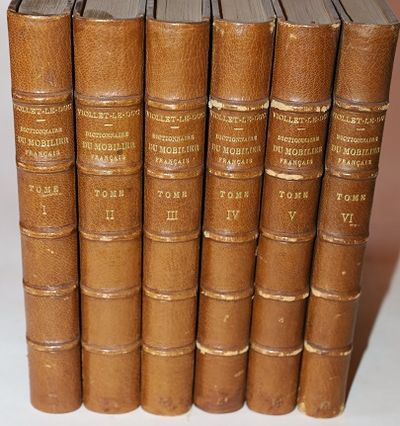 Paris: A. Morel & Cie., 1872-1875. Quarter Morocco over Marbled Boards. Very Good. Over 2000 illustr...