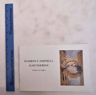 Newburyport, Mass: Lepore Fine Arts, 1990. Softcover. VG. White illustrated stapled wraps. 16 pp. 10...