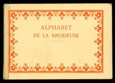 France: Dollfus-Mieg & Cie. Editions th. de Dilmont, S.a. r. l.. clear tape repair on back strip.. U...