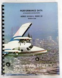 DHC-6 Twin Otter Series 300 (Standard Wheelplane) Performance Data
