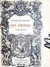 View Image 2 of 6 for Les Amours (extra-illustrated) Inventory #017264