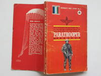 image of Paratrooper: this is the moment they had trained for.... the first drop  into a battlefield aflame with enemy tracer. Here is the way it really  was...
