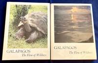 GALAPAGOS:; The Flow of Wildness / Vol. 1. Discovery; Vol 2. Prospect / Edited by Kenneth Brower. / Introductions by John P. Milton  Loren Eiseley / Foreword by David Brower. Selections by Herman Melville  Charles Darwin  J. R. Slevin  William