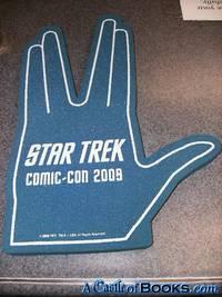 2009 Star Trek Foam Hand promo Vulcan live long & prosper SDCC Blue