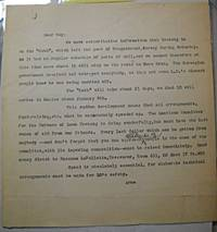 image of [Typed letter on Trotsky's unexpected deportation from Norway to Mexico aboard the tanker Ruth]