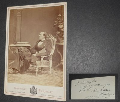 ViaLibri Carte De Visite CDV SIGNED SUPERB ASSOCIATION