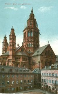 Germany – Mainz – Dom von Leichhof – 1916 used Postcard