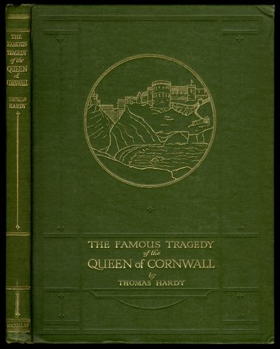 London: Macmillan and Co., Limited, 1923. Hardcover. Very Good. First edition. Octavo. 76pp. Green c...