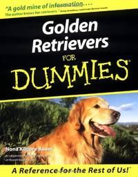 image of Golden Retrievers For Dummies (Howell Dummies Series)