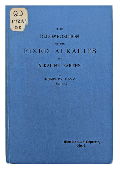 Edinburgh:: Alembic Club, 1902., 1902. Small 8vo. 51 pp. Title-page with heavy offsetting. Blue blac...