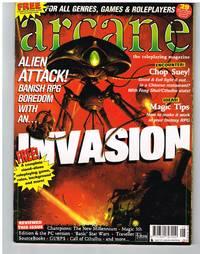 """ARCANE magazine 19- with free rpg """"Forgotten Futures"""""""