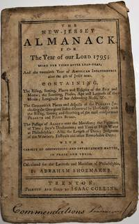 NEW-JERSEY ALMANACK for ... 1795