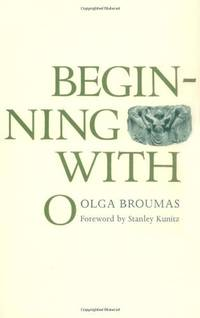 Beginning with O (Yale Series of Younger Poets)