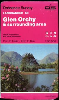 Ordnance Survey Landranger Series of Great Britain 1:50 000 (Pink Covers with Colour Photograph to the Front Cover) Sheet: 50 Glen Orchy and Surrounding Area