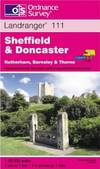 image of Sheffield and Doncaster, Rotherham, Barnsley and Thorne (Landranger Maps)