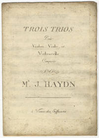 [H. XVI:40-42]. Trois Trios Pour Violon, Viole, et Violoncelle. [Parts] by  Joseph  1732-1809 HAYDN - First Edition - 1789 - from J & J Lubrano Music Antiquarians LLC and Biblio.co.uk