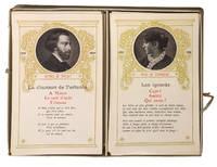 Jeu des Poètes. Composé de 80 Cartes avec Portraits