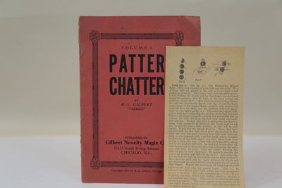 Chicago: Gilbert Novelty Magic Co, 1916. Very Good binding. A handy book of Patter for magicians -- ...