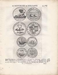 "32 printed leaves from Pierre Bizot, ""Medalische historie der Republyk van Holland"""