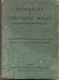 Dictionary of Colloquial Malay