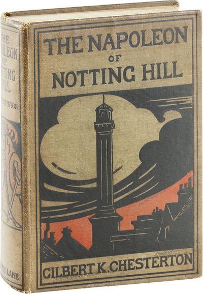 London: John Lane, 1904. First Edition. First Impression. Octavo (19.5cm); light brown decorated boa...